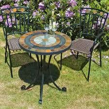 image of garden outdoor bistro chairs