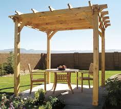 backyard wooden pergola 03