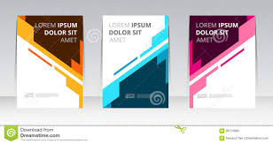Book Report Poster Template Vector Abstract Design Frame Cover Report Poster Template