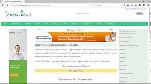 Front Controller Design Pattern In Java Explain Front Controller Design Pattern In Java J2ee Javapedia Net