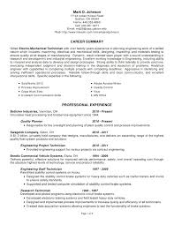 chemical engineering technologist resume