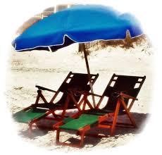 2 wood chairs 1 umbrella