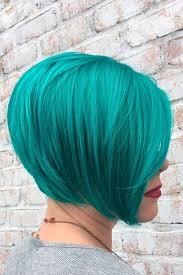 194 Fantastic Bob Haircut Ideas   LoveHairStyles.com   Teal hair ...