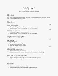 Learn The Truth About How To Write A Resume Template Free