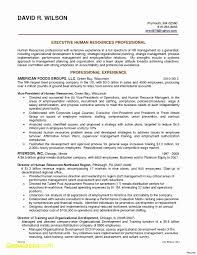 Sample Resume For Experienced Business Development Executive Best Of