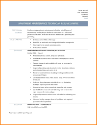 Sample Resume For Maintenance Technician Bunch Ideas Of Maintenance Technician Sample Resume Charming Sample 23