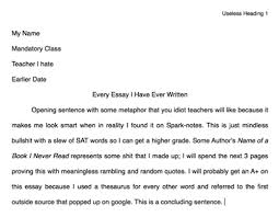 every essay i have ever written via facebook college essay and teacher image