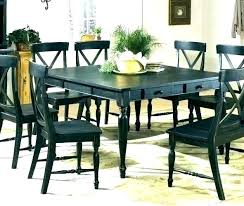 distressed dining table white kitchen set room sets large rustic round and chairs la distressed dining table