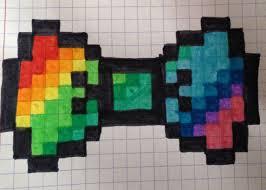 Celui là est pour les débutants ou pour ceux qui sont pressés, un petit papillon avec peu de couleurs qui sera parfait pour un premier pixel art. Noeud Papillon Multicolore Manualidades Infantiles Faciles Manualidades Infantiles Manualidades