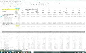 Simple Cash Flows Simple Cash Flow Statement Template Format In Excel Example