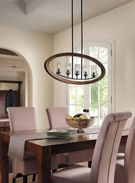 Kitchen Chandelier Lighting Dining Room Lighting Grand Bank 5 Light Linear Chandelier
