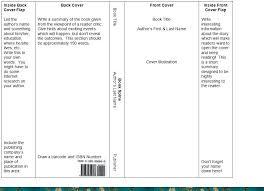 book cover template microsoft