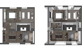 More Bedroom D Floor Plans  Idolza - Small apartment floor plans 3d