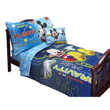 mickey mouse toddler bed set disney 174 mickey mouse 4