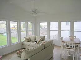 the project included 11 windows a patio sliding door and a french door to the house true to its name of a three season room the room was full insulated