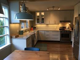 Ikea Wood Countertop Review A Gorgeous Ikea Kitchen Renovation In Upstate New York