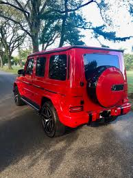 Explore the amg g 63 suv, including specifications, key features, packages and more. Used 2019 Mercedes Benz G63 Amg Suv 4 Matic Exclusive Interior Package Night Package For Sale Special Pricing Chicago Motor Cars Stock 16553