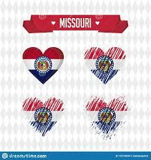 Graphic Design Missouri Missouri With Love Design Vector Broken Heart With Flag