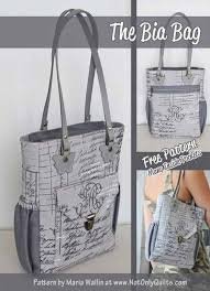 1026 best Bags and Purses - Sewing Patterns,Tutorials ... & Free Bag Pattern and Tutorial - The Bia Bag by Not Only Quilts Adamdwight.com