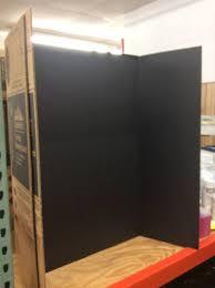 tri fold board black 10 15 18