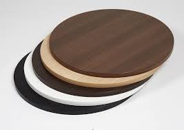 round laminate table tops