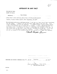 Affidavit Of Facts Template Affidavit Of Fact Template Complete Guide Example 9