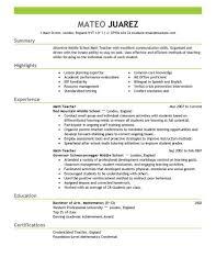 Best Teacher Resume Sample Best Teacher Resume Example Livecareer