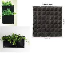 office planter. Image Is Loading 49-Pockets-Wall-Grow-Bag-Vertical-Planter-Wall- Office Planter