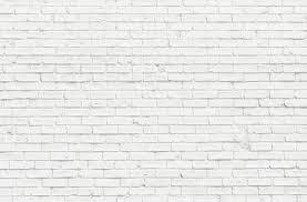 ... White brick wall stock photo ...