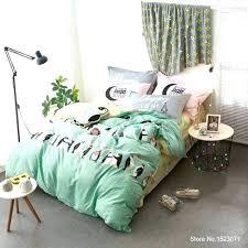 100 cotton comforter king queen panda penguin dolphin shark bedding set fabric kids duvet cover sheet