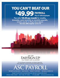 Get Professional Payroll Management For Just 49 95 Mo Asc
