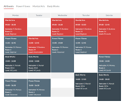 block schedule maker timetable responsive schedule for wordpress by quanticalabs codecanyon