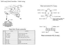 wiring diagram 7 pin trailer connector wirdig