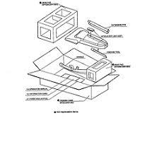 sharp vacuum parts. packing sharp vacuum parts