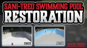 sani tred permaflex. Plain Tred SaniTred Swimming Pool Restoration Intended Sani Tred Permaflex E