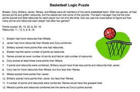 Critical Thinking Puzzles    Critical Thinking Logic Puzzles for Beginners  Grade      and     Golden