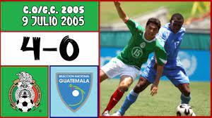Mexico [4] vs. Guatemala [0] FULL GAME ...