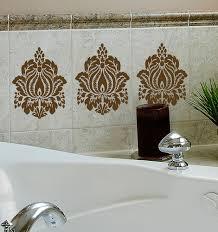 tile tattoos bathroom  images about kitchen on pinterest black granite kitchen backsplash an