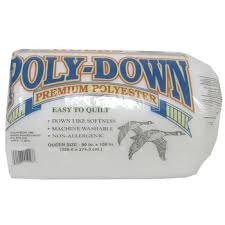 Queen Size Poly-Down Batting | Hobby Lobby | 185207 & Queen Size Poly-Down Batting Adamdwight.com