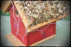 rebecca s bird gardens blog diy living roof birdhouse ewiremoss