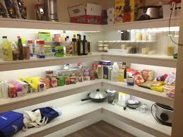 shelf lighting strips. led strip lighting in the pantry shelf strips