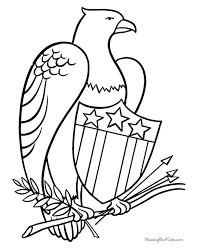 Small Picture 21 best Eagle Coloring Pages images on Pinterest Eagles