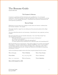 Different Resumes For Different Jobs Resume Template For One Job History Therpgmovie 20