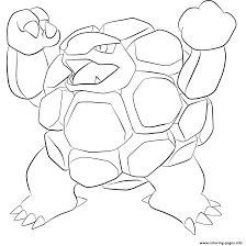 Small Picture 076 golem pokemon Coloring pages Printable
