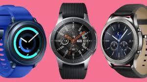 Samsung Watch Comparison Chart Best Samsung Watch 2019 See Our Top Smartwatch Choices