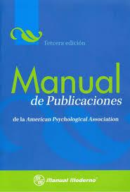 Manual De Publicaciones Con Normas Apa