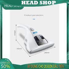 Máy hút bụi mịn, lông chó mèo trên giường nệm chăn ga gối MH-01 diệt khuẩn  bằng tia UV và nhiệt độ cao HEAD SHOP - Máy hút bụi