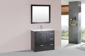 36 redondo espresso single modern bathroom vanity with integrated sink right 36 redondo espresso single modern bathroom vanity with integrated sink