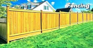 fence cost per foot wood fence cost per foot how much does a privacy fence cost