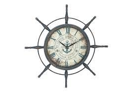 captains wheel decor ship wheel wall decor 1 nautical clock captains wheel decoration